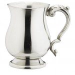 Georgian English Pewter Tankards