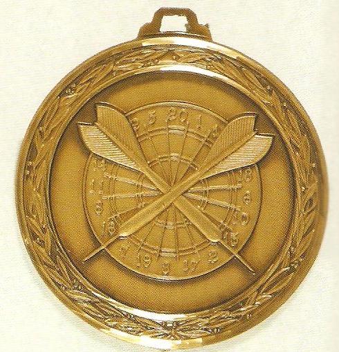 Darts Medal 1