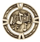 60mm Music Medals