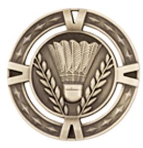 60mm Badminton Medals 1