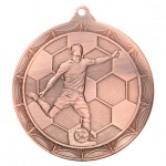 50mm Football Medals