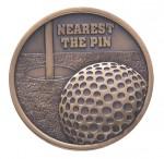 70mm Nearest The Pin Golf Medals