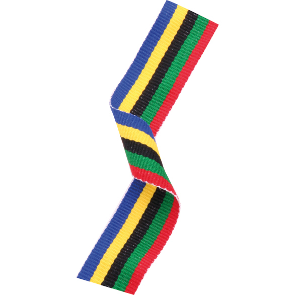 Olympic Woven Medal Ribbons With Clip 1