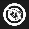 Target and Pistol Logo