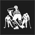 Ice Hockey Players Logo