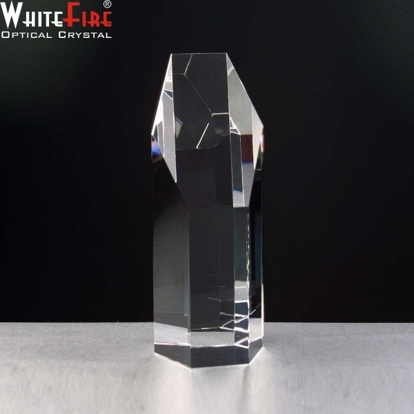 Whitefire Elgin Column Crystal Awards Supplied In A Velvet Lined Presentation Case. Price Includes Engraving