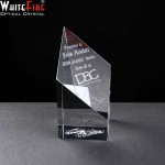 Whitefire Fort William Column Crystal Awards Supplied In A Velvet Lined Presentation Case. Price Includes Engraving.