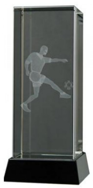 Football Trophies With Engraved 3D Players 1