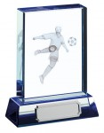 Glass Football Trophies