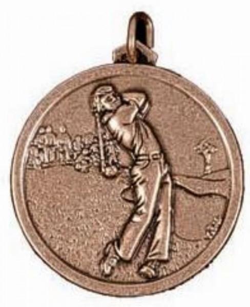 Male Golfer Medal 1
