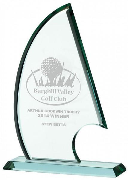Jade Glass Awards Supplied In Presentation Box