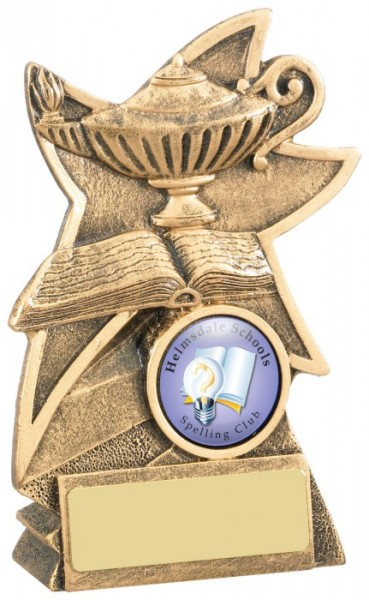 Resin Quiz Trophies / School Trophies For Knowledge 1