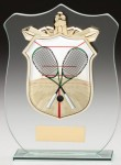 Glass Plaque With Squash Centre